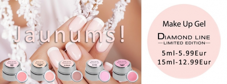 Make up gel Diamond Line